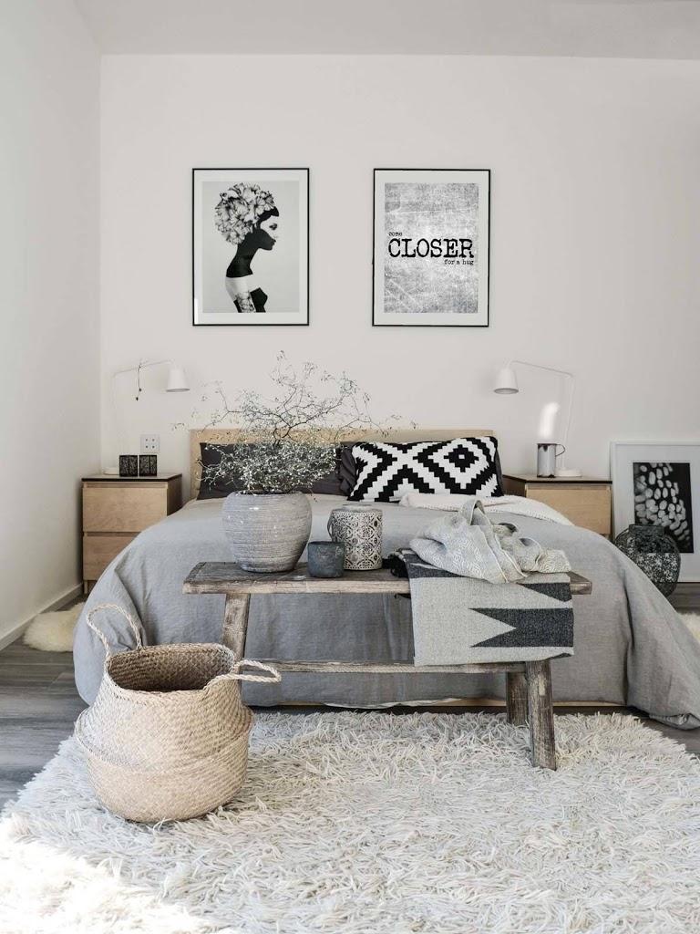 Inspiracion para tener un dormitorio de estilo nordico