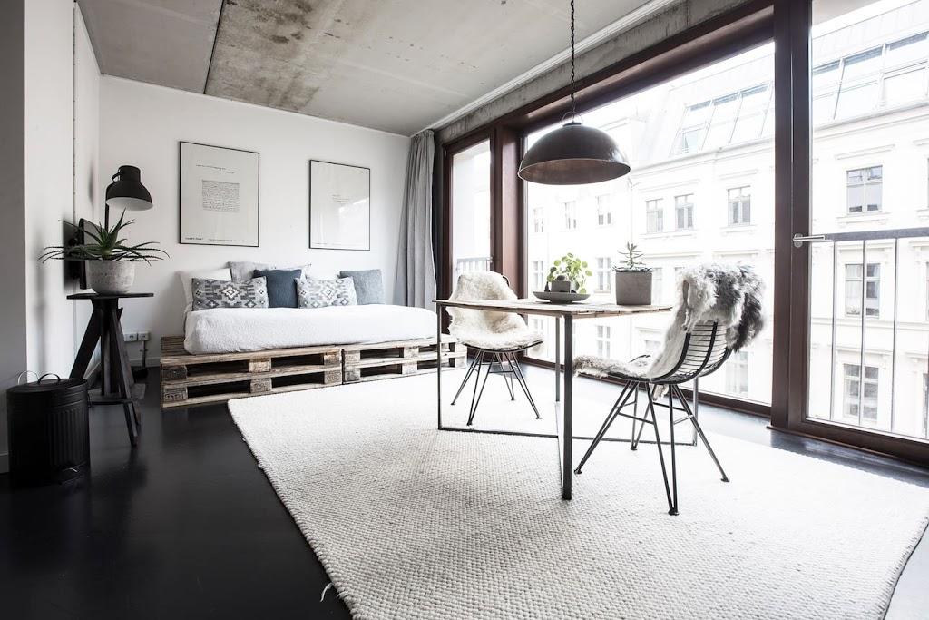 Un pequeño estudio industrial en Berlin