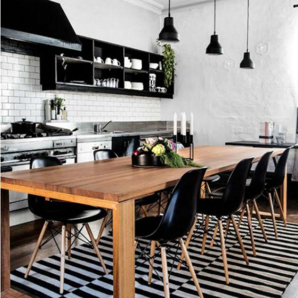 Mesas de comedor en la cocina ¿Si o no?