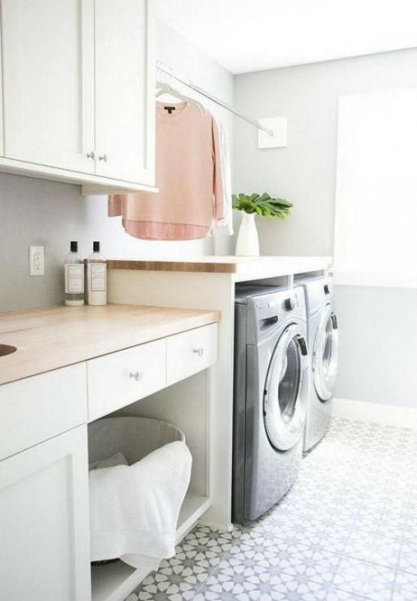 Inspiracion para tener un lavadero super bonito la for Mobiliario lavadero