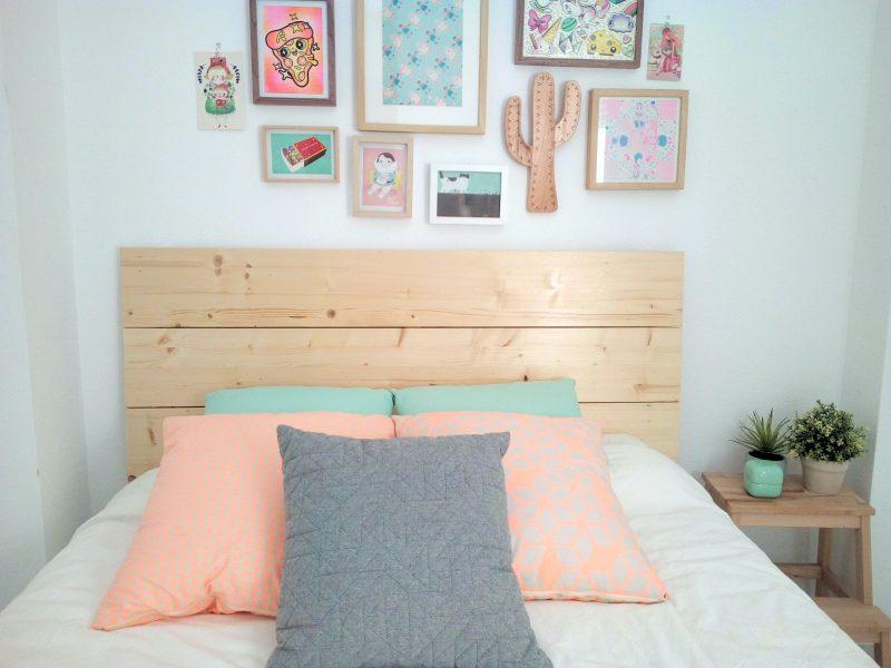 Originales cabeceros de madera para tu dormitorio la buhardilla - Cabeceros de madera originales ...
